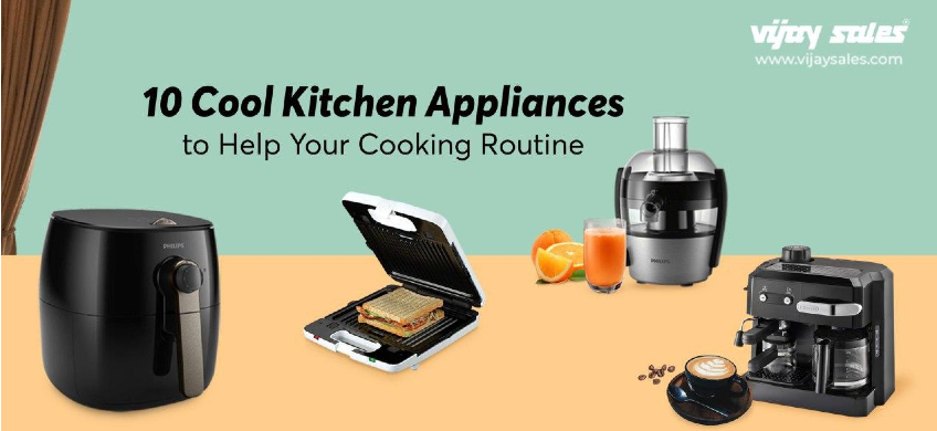 10 Cool Kitchen Appliances To Help Your Cooking Routine