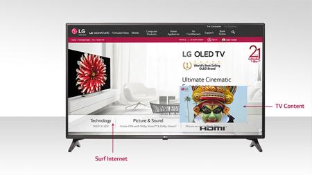 LG 32LJ573D 32 (80cm) HD SMART LED TV Price in India - buy LG