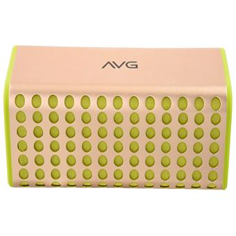 buy AVG PORTABLE BLUETOOTH SPEAKER F4 YELLOW :AVG