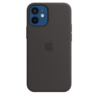 buy IPHONE 12 MINI SILICONE CASE WITH MAGSAFE BLACK :Apple