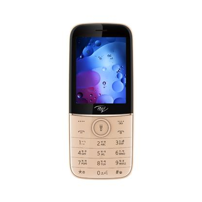 buy ITEL MOBILE IT 6330 GRADATION CHAMPAGNE GOLD :Itel