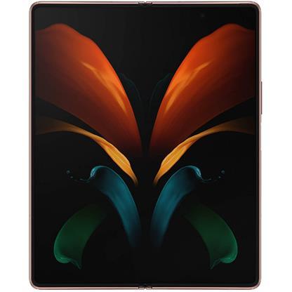 buy SAMSUNG MOBILE GALAXY Z FOLD 2 5G F916B 12GB 256GB BROWN :Mystic Bronze