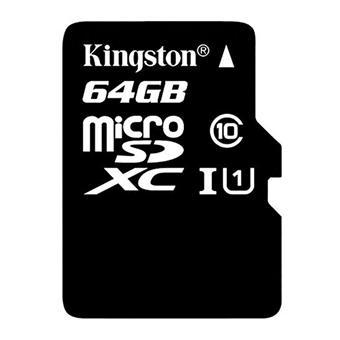 buy KINGSTON 64GB MICRO SD CRAD 80R CL10 :Kingston