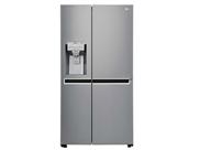 buy LG GCL247CLAV  668Ltr Side-by-Side Refrigerator (Shiny Steel)