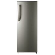 buy Haier HRD1954BSE 195Ltr Direct Cool Refrigerator (Brush Steel)