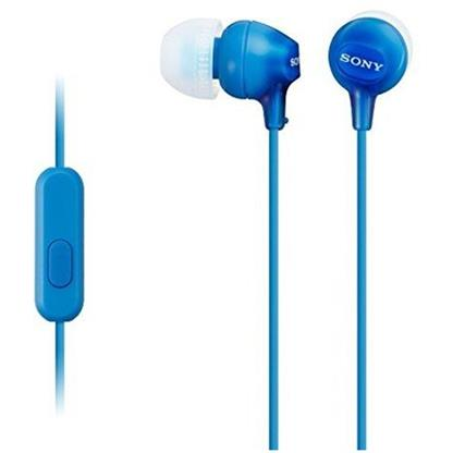 buy SONY EARPHONE WITH MIC MDREX15AP BLUE :Sony