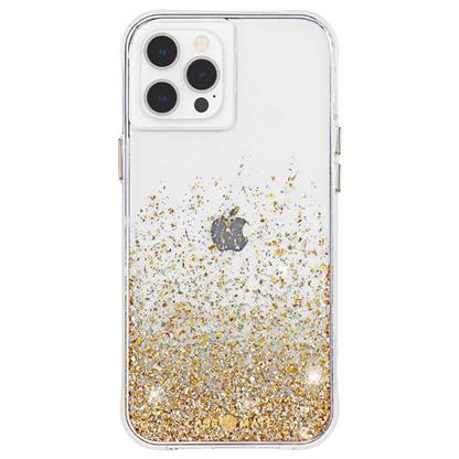 buy Case-Mate Twinkle Hard Back Case Cover for iPhone 12/12 Pro - Gold :Casemate