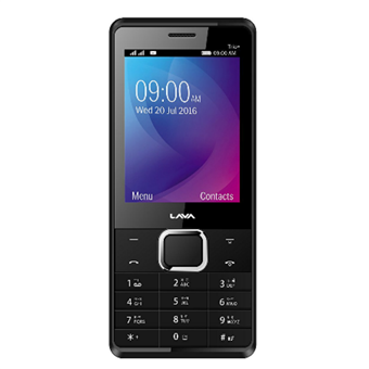 buy LAVA MOBILE KKT TRIO PLUS BLACK GOLD :LAVA