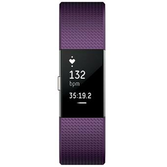 buy FITBIT CHARGE 2 PLUM LARGE :Fitbit