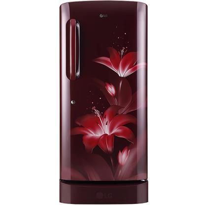 buy LG REF GLD221ARGY RUBY GLOW :Toughened Glass