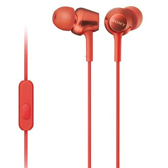 buy SONY EARPHONE WITH MIC MDREX255APRQIN RED :Sony