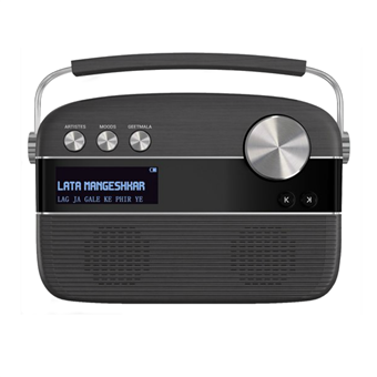 buy SAREGAMA CARVAAN MUSIC PLAYER PORCELAIN BLACK :Saregama