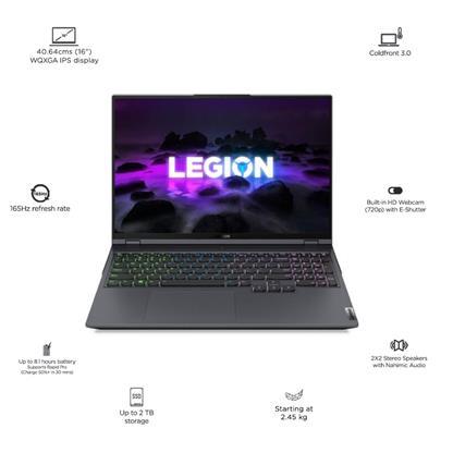 buy LENOVO R7 16GB 1TBSSD 6GB 82JQ0062IN(LEGION5 PRO) :Graphic Performance Laptops