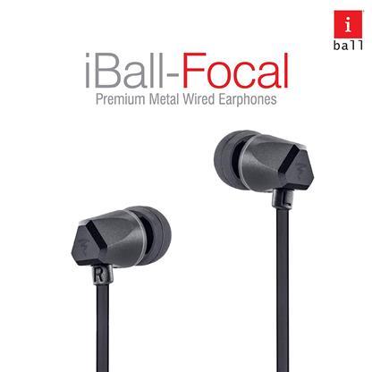 buy IBALL FOCAL PREMIUM METAL EARPHONE :IBall