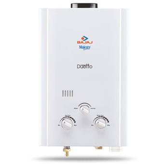 buy BAJAJ GEYSER MAJESTY DUETTO GAS WATER HEATER (LPG) :Bajaj