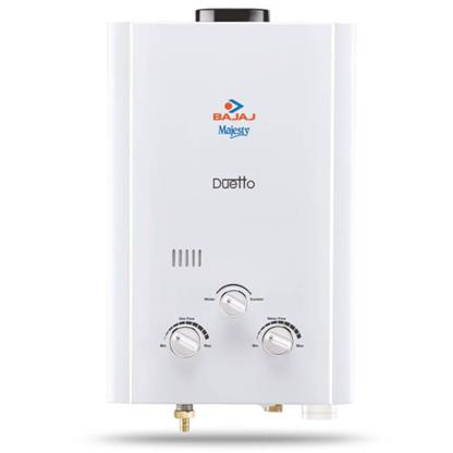 buy BAJAJ GEYSER MAJESTY DUETTO GAS WATER HEATER (LPG) :Bajaj