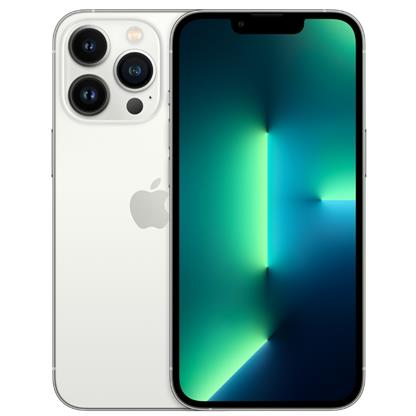 buy IPHONE MOBILE 13 PRO 128GB SILVER :Silver