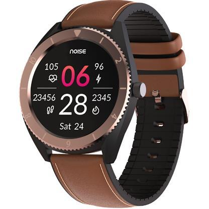 buy Noise NoiseFit Endure Smart Watch with 100+ Cloud Based Watch Faces (Vintage Brown) :Noise