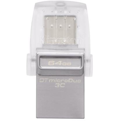 buy KINGSTON PENDRIVE OTG TYPE C 64GB DATATRAVELER MICRODUO3C :Kingston