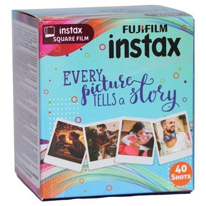 buy FUJIFILM INSTAX CAMERA VALUE PACK SQUARE 40 SHOTS :Fujifilm