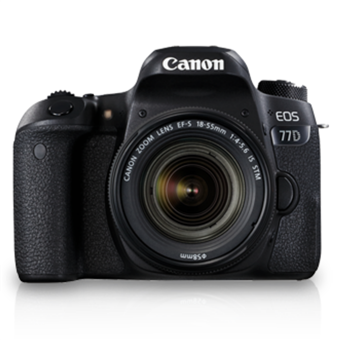 buy CANON DSLR EOS 77D 18MM-55MM LENS :Canon