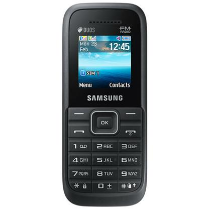 buy SAMSUNG MOBILE GURU PLUS B110E BLACK :Samsung