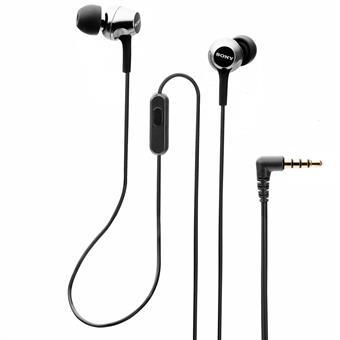 buy SONY EARPHONE WITH MIC MDREX255APBQIN BLACK :Sony