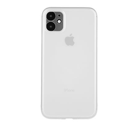 """buy Stuffcool Thins Ultra Slim Back Case Cover for Apple iPhone 11 6.1"""" - White :Stuffcool"""