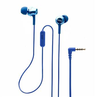 buy SONY EARPHONE WITH MIC MDREX255APLQIN BLUE :Sony