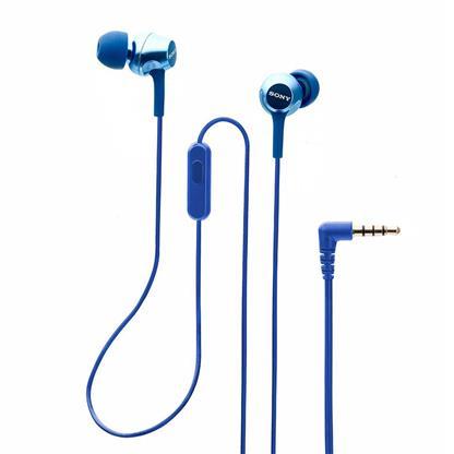 buy SONY EARPHONE WITH MIC MDREX255APLQIN BLUE :Sony