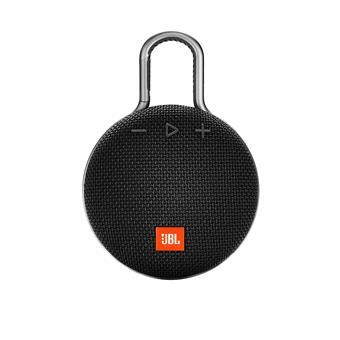 buy JBL PORTABLE BT SPEAKER CLIP 3 BLACK :JBL