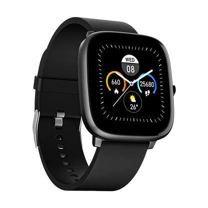 buy NOISE SMART WATCH COLORFIT QUBE CHARCOAL GREY :Smart Watches & Bands