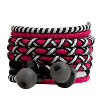buy Crossloop Pro Series Earphone In Pink & Black :Crossloop