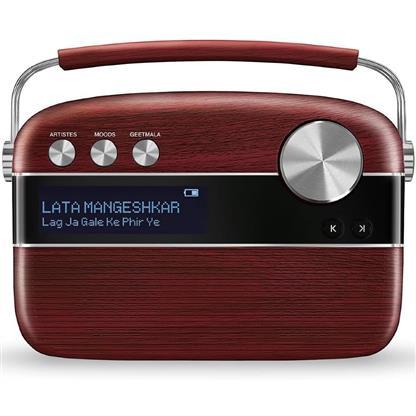buy SAREGAMA CARVAAN MUSIC PLAYER MARATHI CHERRYWOOD RED :Saregama