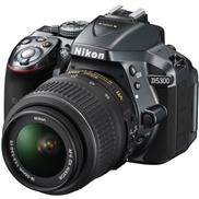 buy Nikon D5300 DSLR Camera (18-55+70-300MM)