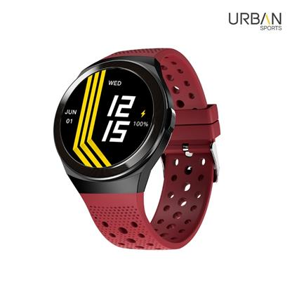 buy URBAN SMARTWATCH URBAN SPORTS RED :Smart Watches & Bands