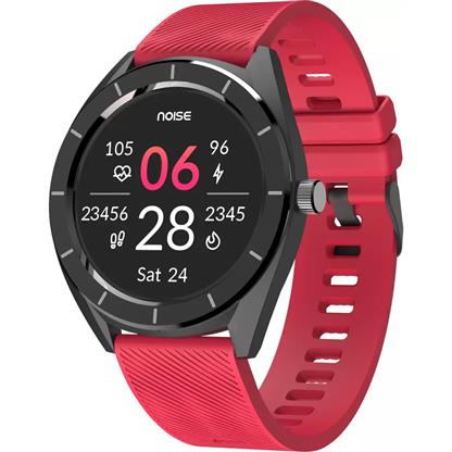buy Noise NoiseFit Endure Smart Watch with 100+ Cloud Based Watch Faces (Racing Red) :Noise