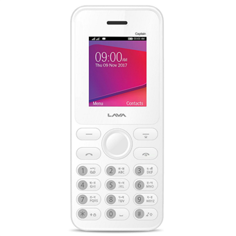 buy LAVA MOBILE CAPTAIN 9S WHITE :LAVA