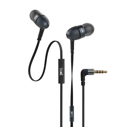 buy BOAT EARPHONE BASS HEADS 228 BLACK :Boat