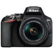 buy Nikon D3500 DSLR Camera (18-55mm + 70-300mm Lens, Black)