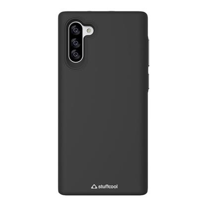 "buy Stuffcool Galaxy Note10 Case, Impact Hard Back Case Cover for Samsung Galaxy Note 10 6.3"" (2019) - Black :Stuffcool"