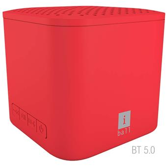 buy IBALL BT SPEAKER MUSI CUBE X1 RED :IBall