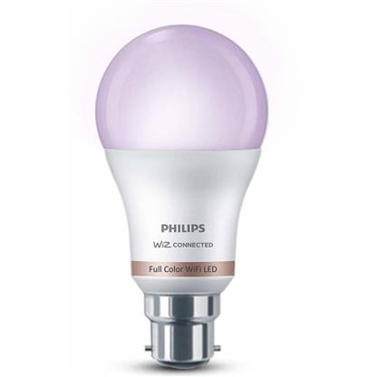 buy PHILIPS SMART WIFI LED BULB B22 WIZ CONNECTED 10W :Multicolor