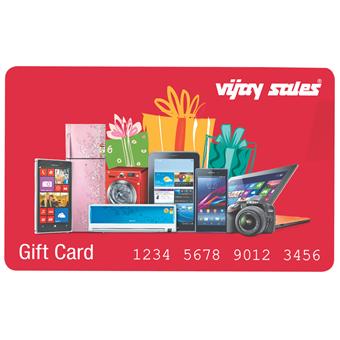 buy Vijay Sales Gift Card-2000 :