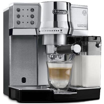 buy DELONGHI COFFEE MAKERPUMP ESPRESSO & CAPPUCCINO MACHINE EC850 :Delonghi