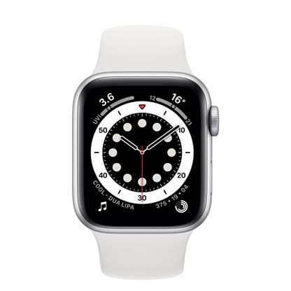 buy APPLE WATCH S6 44 SIL AL WT SP CEL MG2C3HN/A :Apple Watch