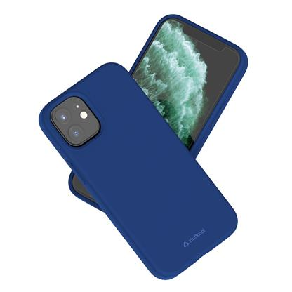 buy Stuffcool Silo Soft & Smooth Slimmest Back Case Cover for iPhone 12 Mini - Navy :Stuffcool