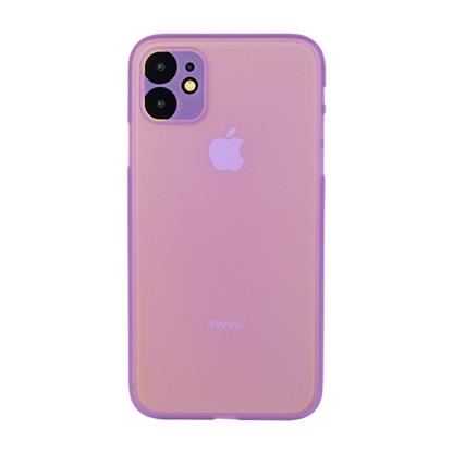 """buy Stuffcool Thins Ultra Slim Back Case Cover for Apple iPhone 11 6.1"""" - Purple :Stuffcool"""