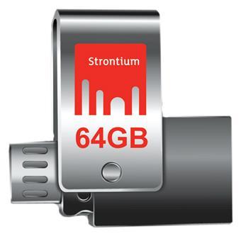 buy STRONTIUM 64 GB NITRO PLUS OTG USB 3.0 :Strontium