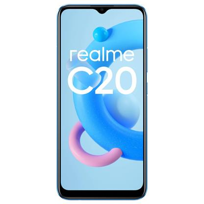 buy REALME MOBILE C20 RMX3063 2GB 32GB COOL BLUE :Cool Blue